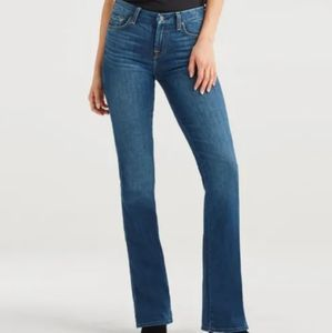 7 for All Mankind Lexie Kimmie Bootcut Jeans 25